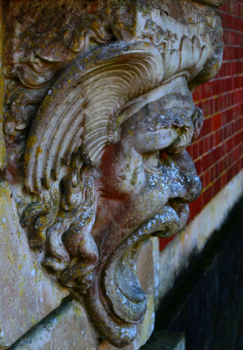 Stone Face at Waddesdon Manor Silent Sunday My Sunday Photo 070216