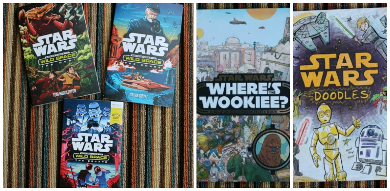 Star Wars books from Egmont