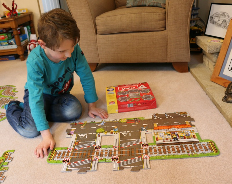 Orchard Toys Station floor puzzle