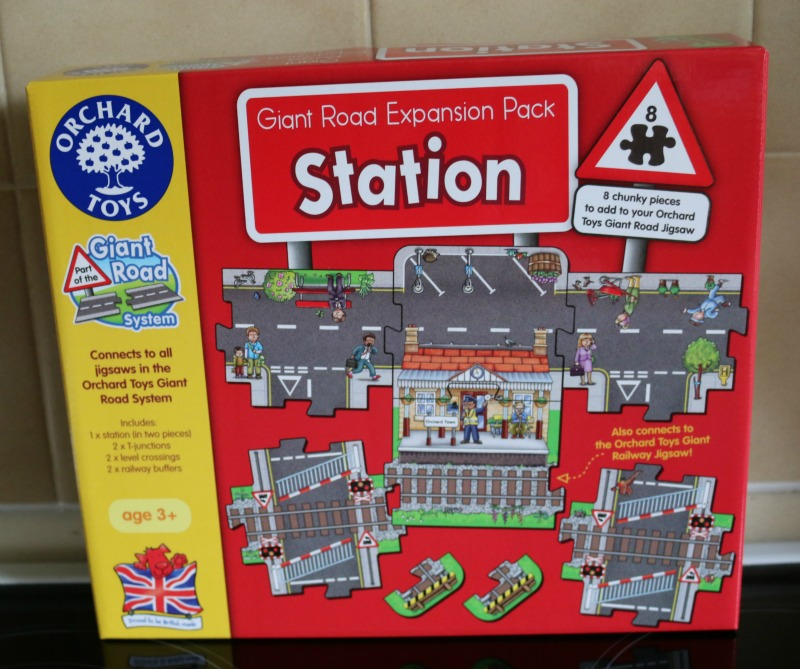 Station set from Orchard Toys