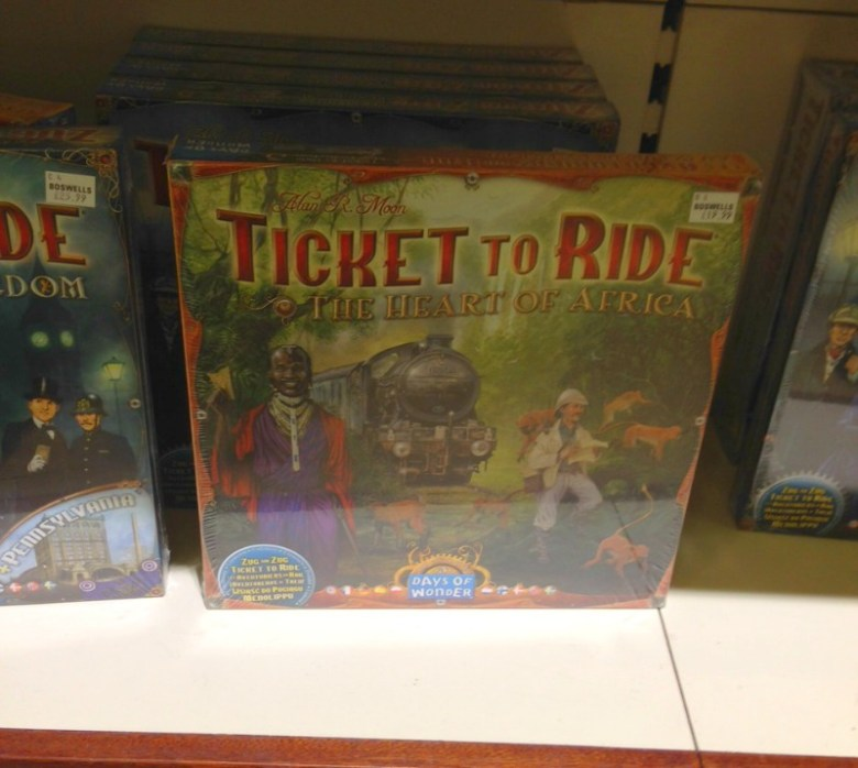 Ticket to Ride at Boswell & Co