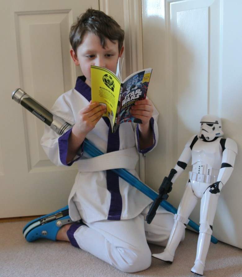 World Book Day with Star Wars Adventures in Wild Space