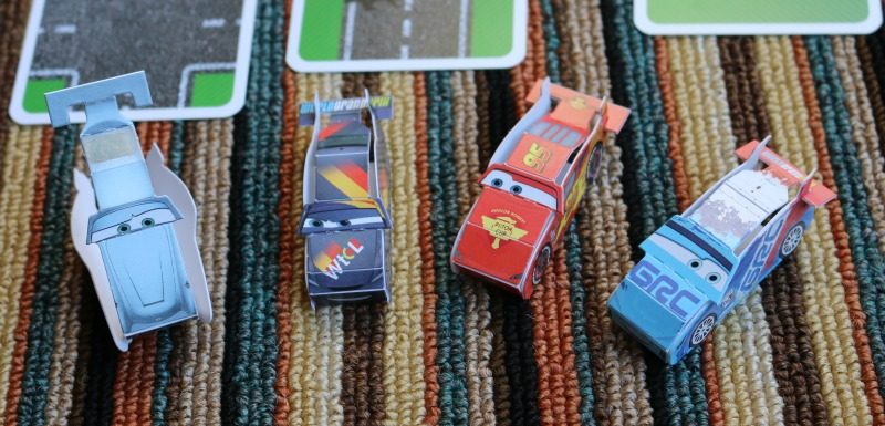 Cars Racing and Action Game Box