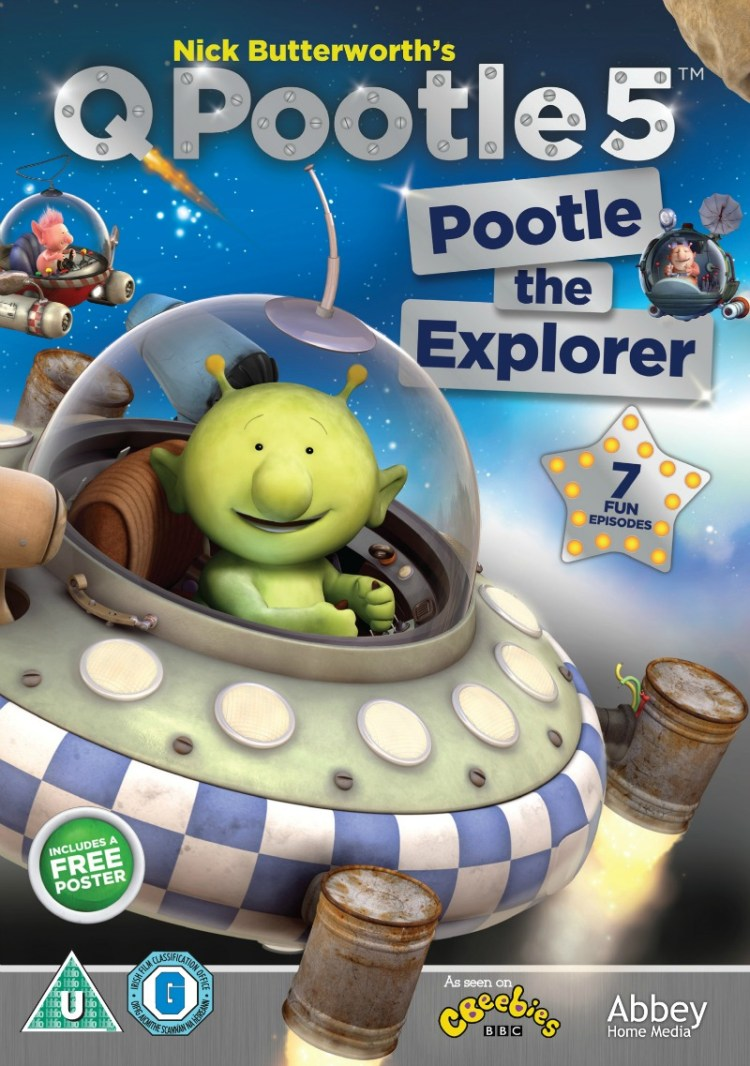 Q Pootle 5: Pootle the Explorer DVD