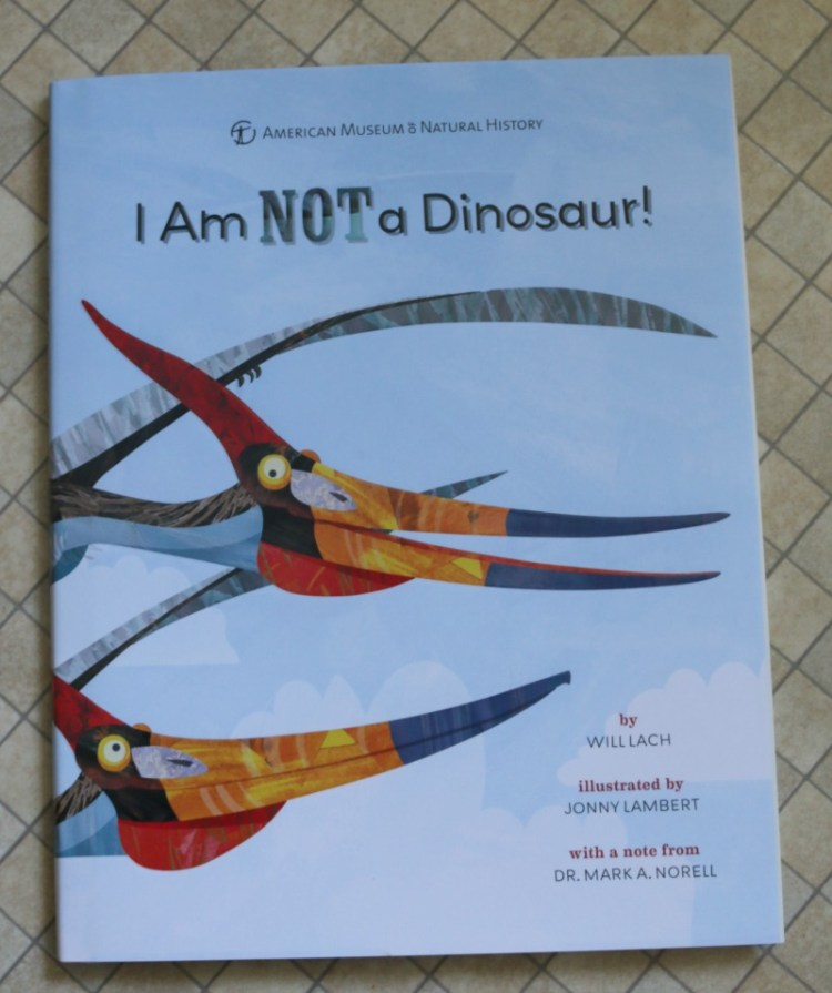 I am NOT a Dinosaur!