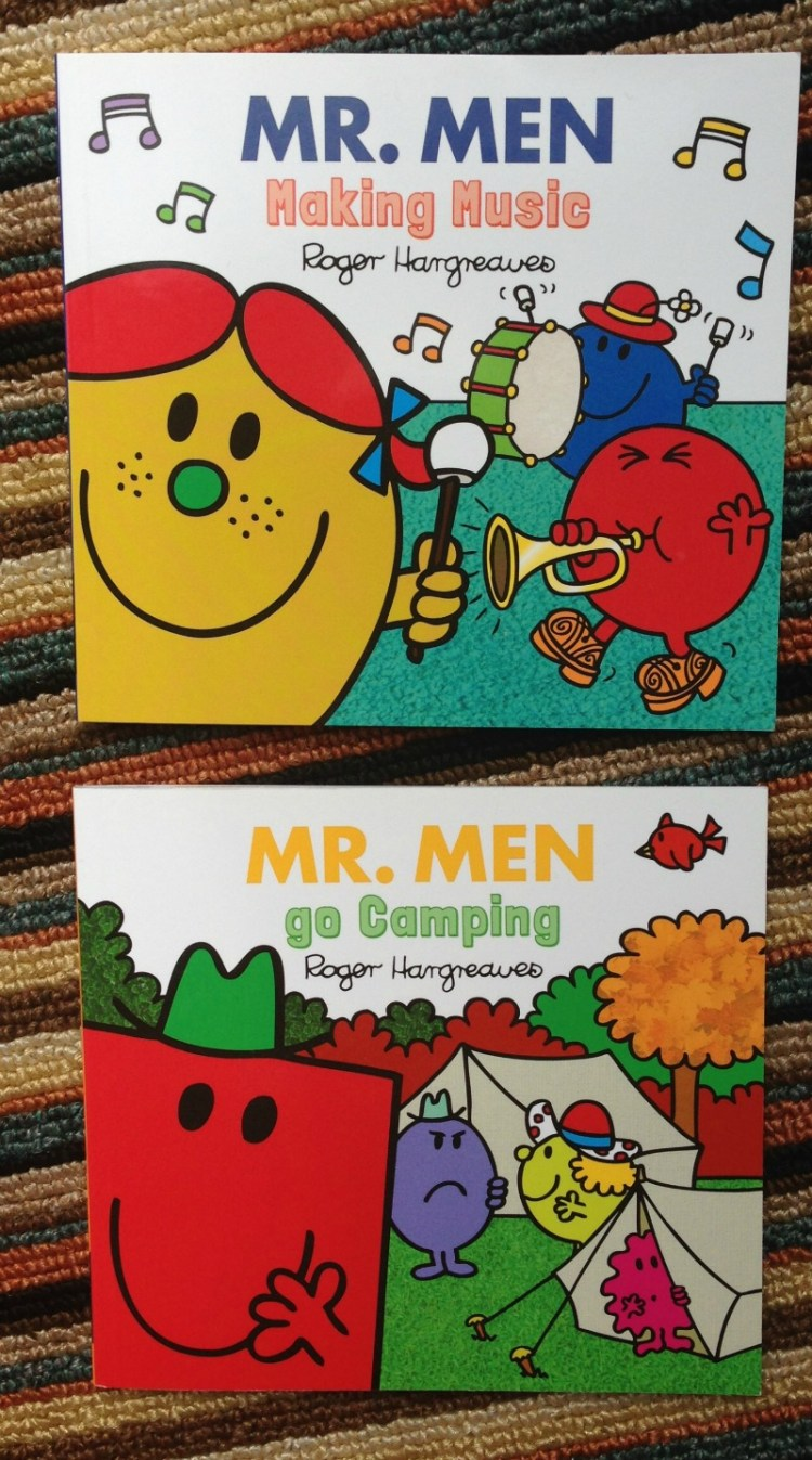 New additions to the Mr Men Every Day series