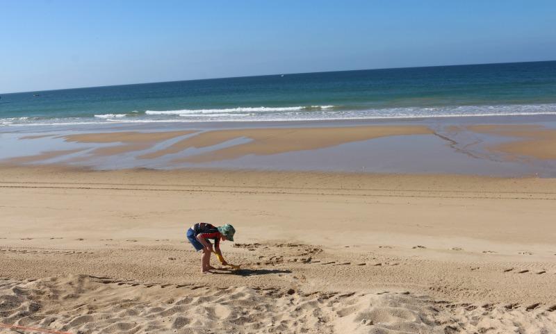 Beach time at Praia dos Três Castelos