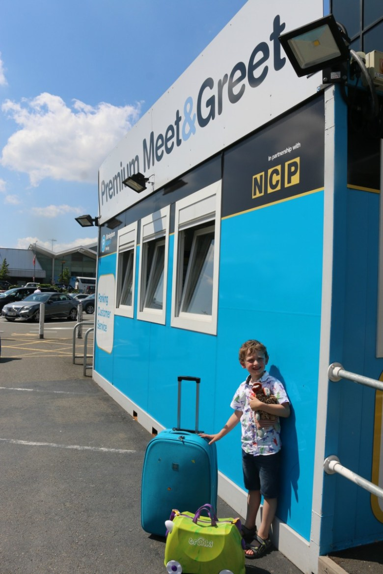 Stress free solo parent travelling from Birmingham Airport