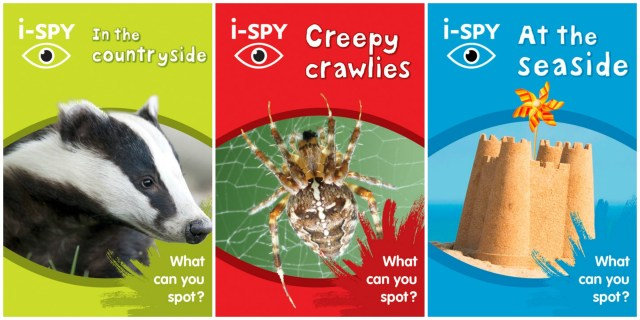 Entertaining children with i-SPY books