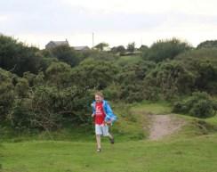 Enjoying a walk on Bodmin Moor