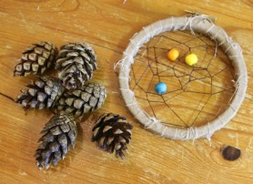 A woodland walk and crafting session