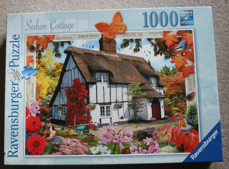 Sedum Cottage 1000 piece puzzle from Ravensburger