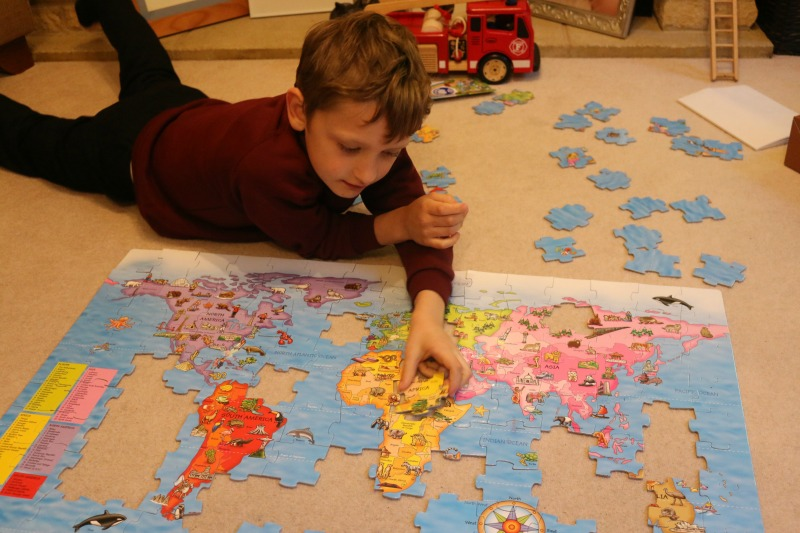 World map puzzle from orchard toys is a great educational tool gumiabroncs Choice Image