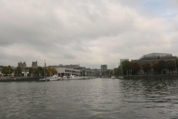 Exploring Bristol Floating Harbour aboard Mayflower
