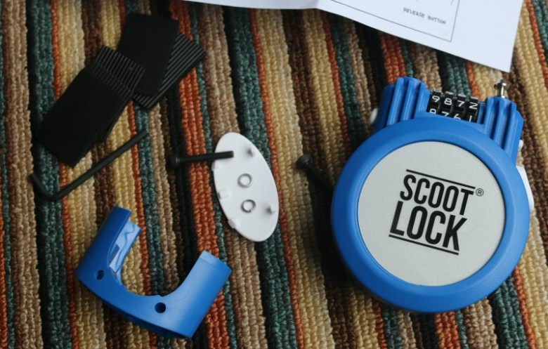 Protect your scooter with Scoot Lock