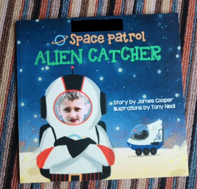 Space Patrol Alien Catcher