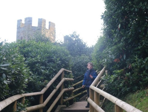 Getting in the Christmas spirit at Warwick Castle