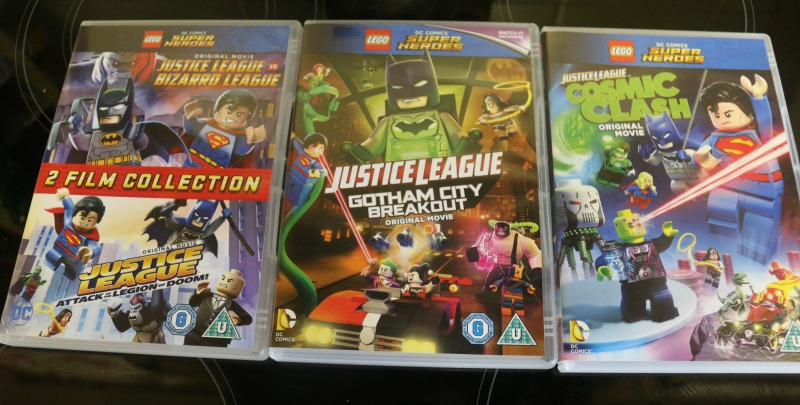 Justice League 4 film collection on DVD