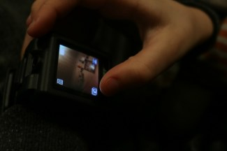 Monkey becomes a Spy with the Spy Net Touch Video Watch