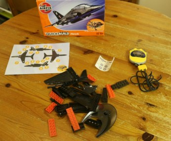 Monkey takes the #QuickBuildTimeChallenge with Airfix