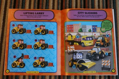 My 1st JCB Sticker and Activity Books