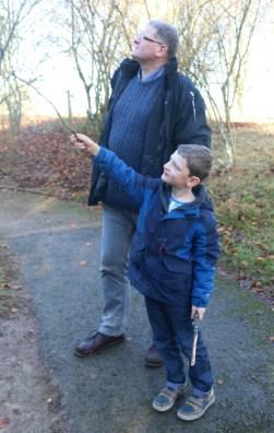 Exploring Scotney Castle