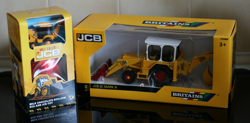 Celebrating Easter with JCB and Britains JCB 3c Mark III