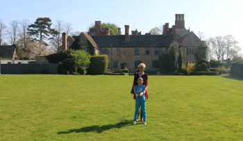 Relaxing at The Manor Country House Hotel
