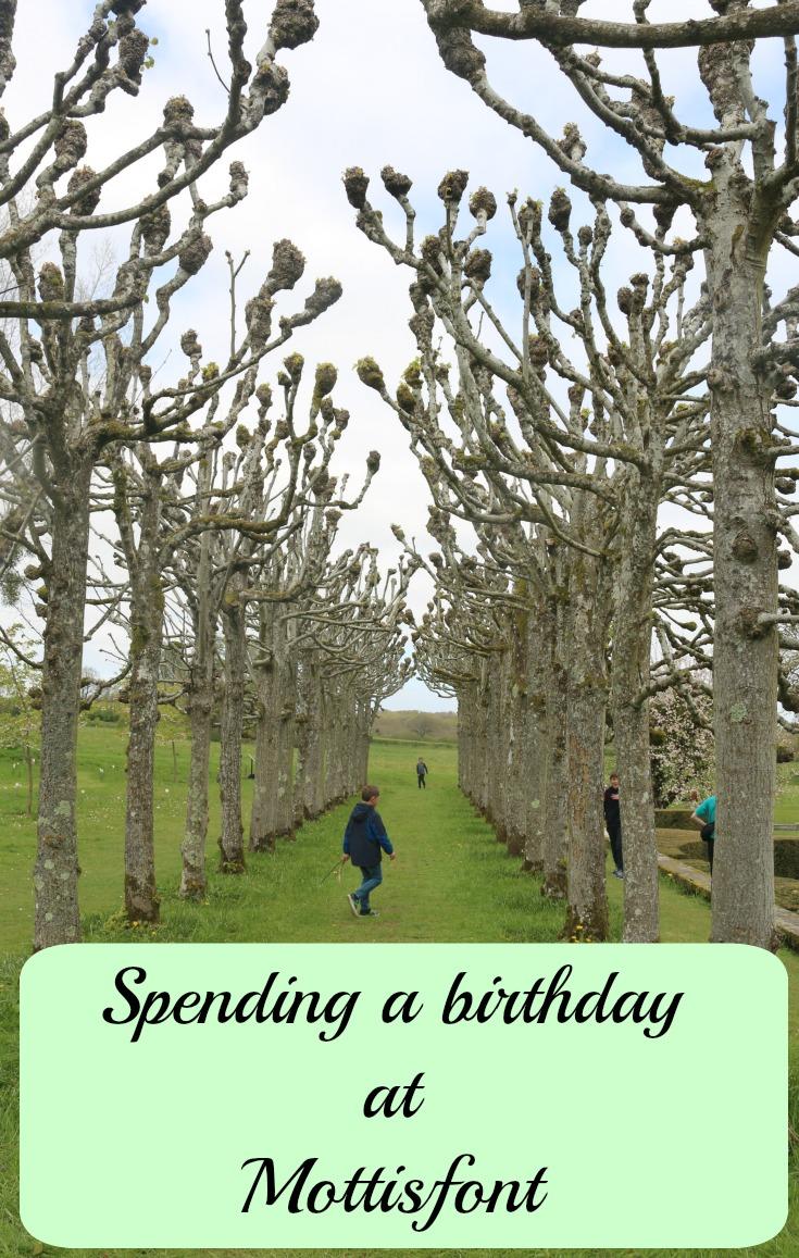 Spending a birthday at Mottisfont