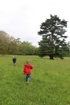 Having fun at Compton Verney