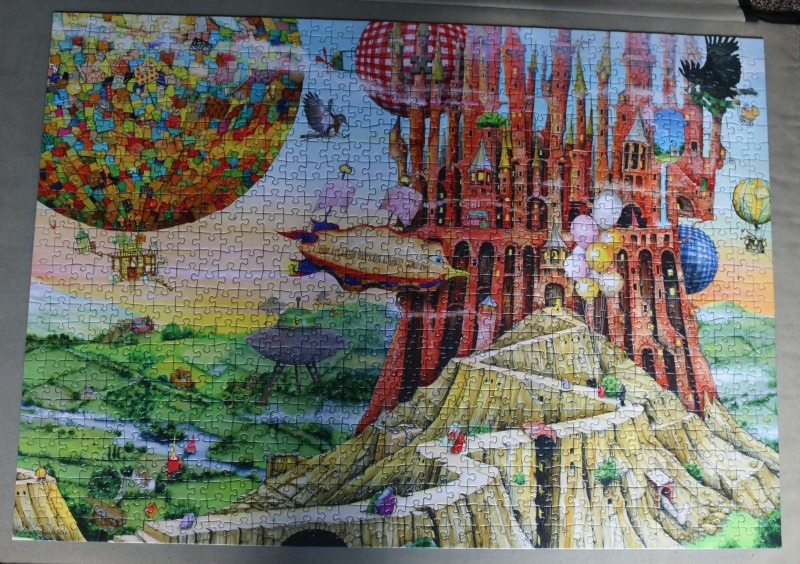 Ravensburger Flying Home 1000 piece jigsaw puzzle