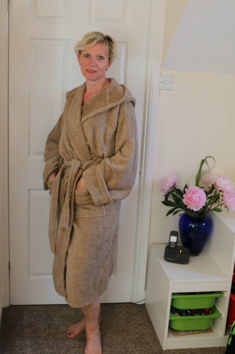 Luxury Towelling Dressing Gown from The Towel Shop