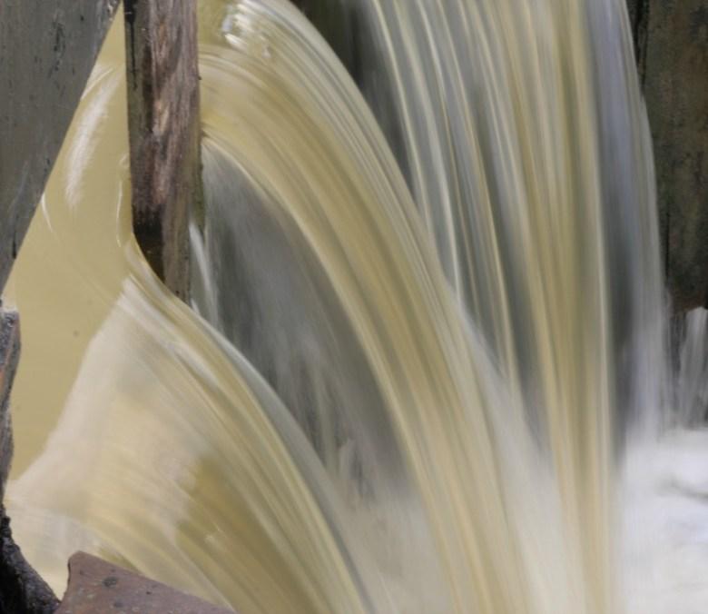 Gushing water - My Sunday Photo 160717