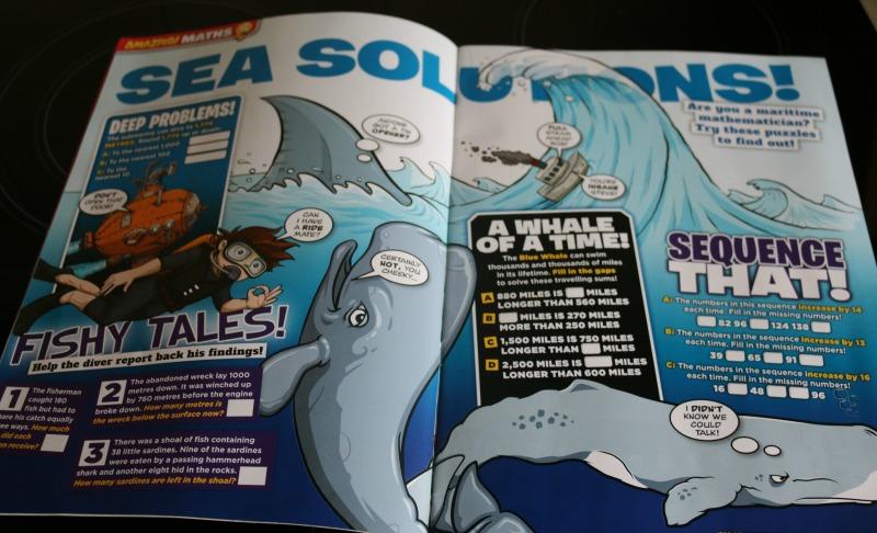 Learning with Amazing! magazine