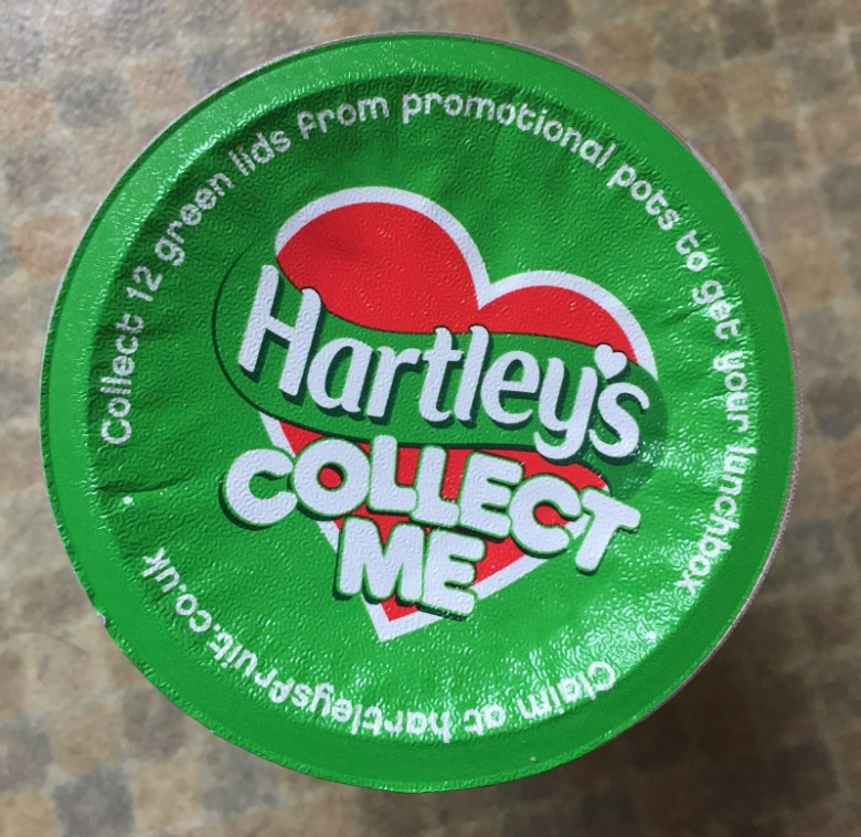 Hartley's Back To School 'Lunchtime Challenge'