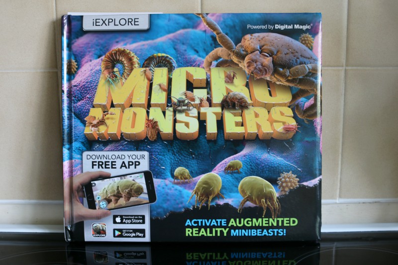 iExplore Micro Monsters book