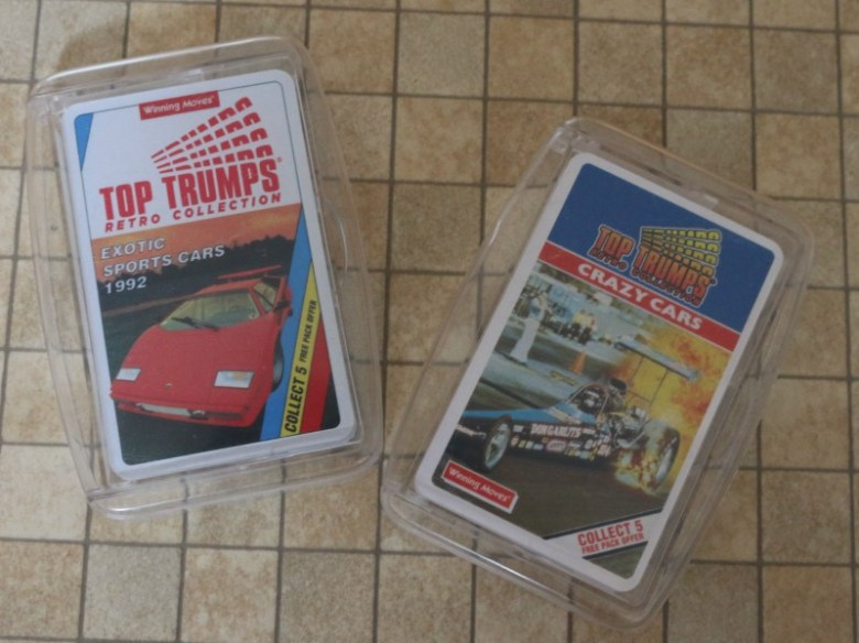 Going retro with Top Trumps