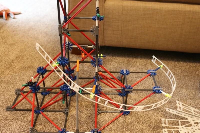 K'Nex Web Weaver Coaster 34