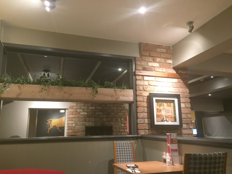 Eating out at Beefeater Applecart Didcot