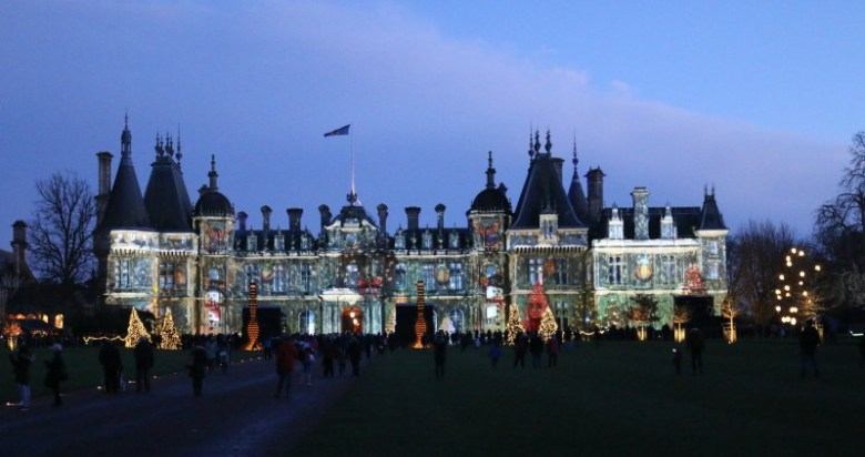 Enjoying Waddesdon Imaginarium on New Years Eve