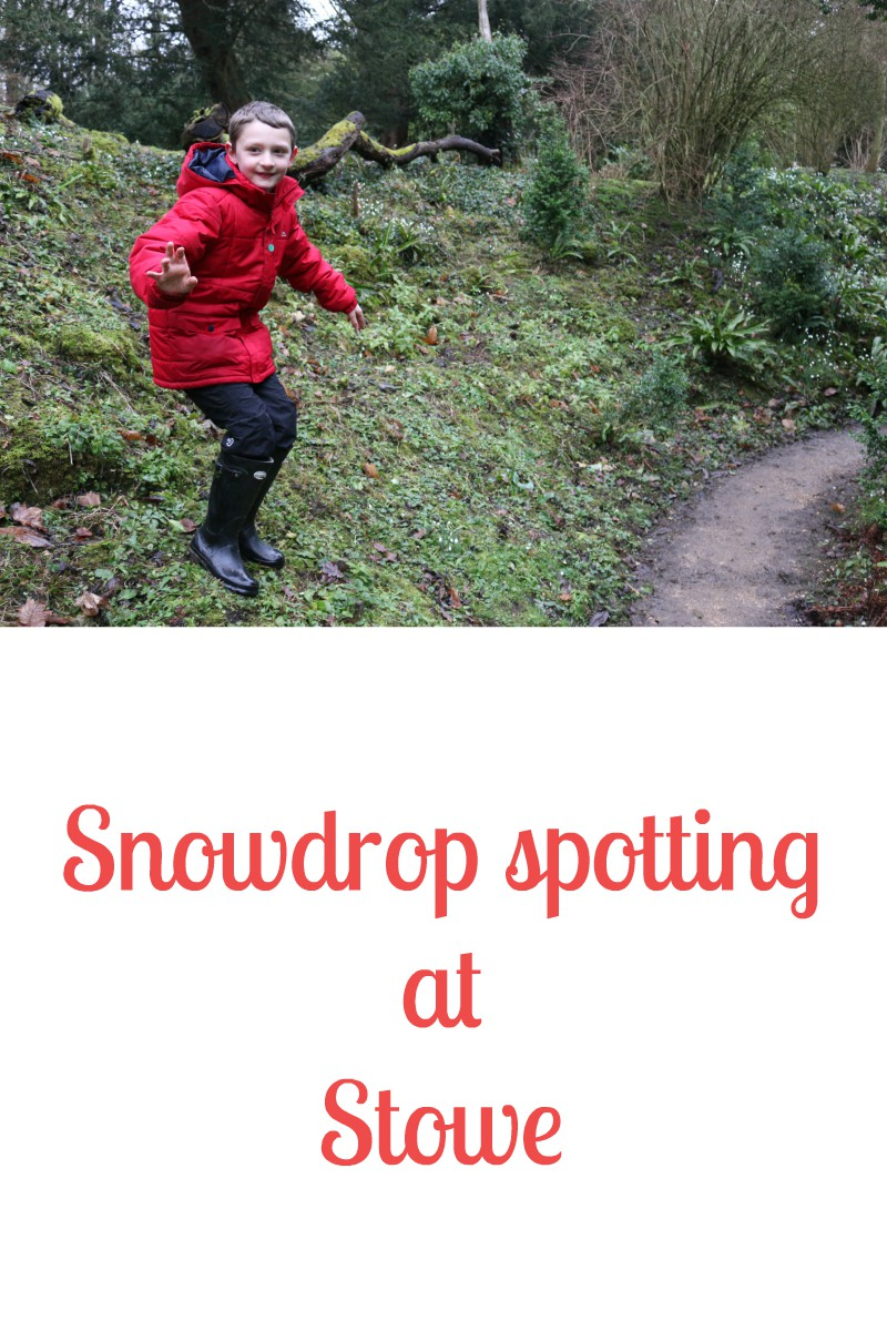Snowdrop spotting at Stowe