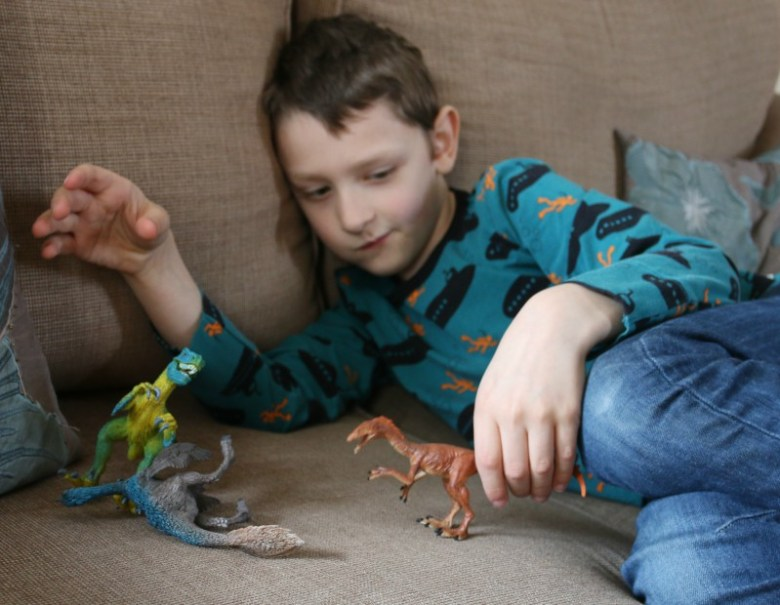 A world of dinosaurs from Schleich