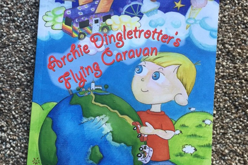 Archie Dingletrotter's Flying Caravan