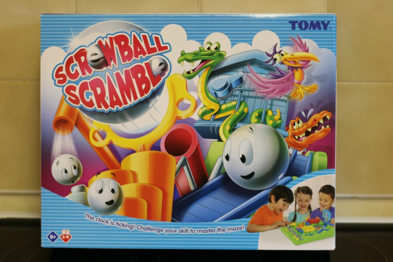 Having fun with Screwball Scramble