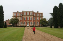 A family break at Chicheley Hall