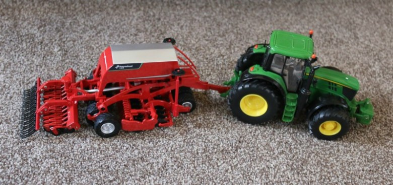 Britains Kverneland Seeding Combination U-Drill