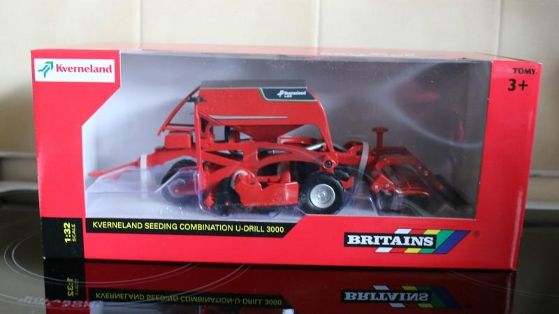 Britains Kverneland Seeding Combination U-Drill
