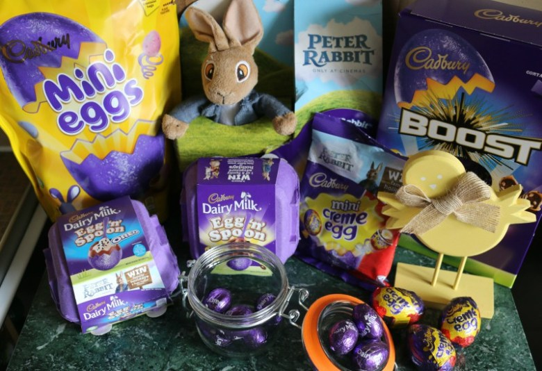 Celebrating Easter with Cadbury's and Peter Rabbit