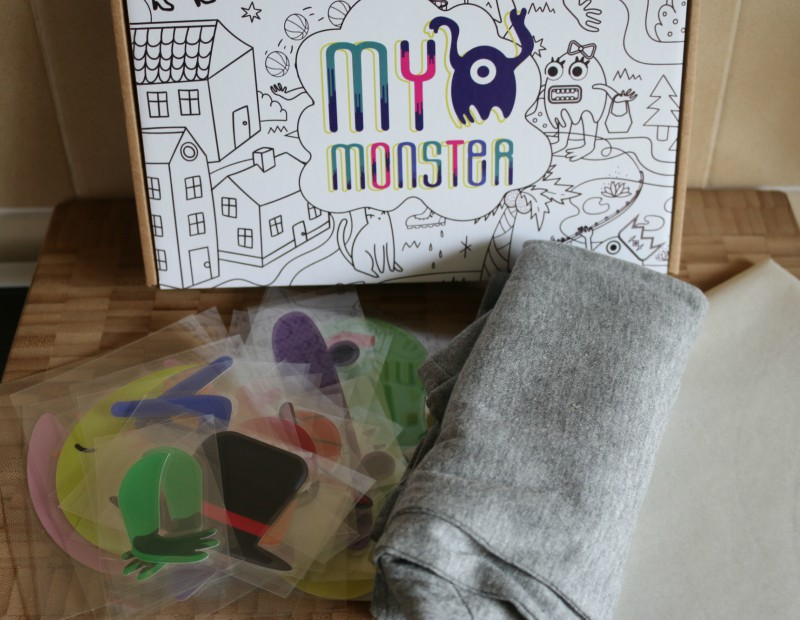 Creating a My Monster t-shirt