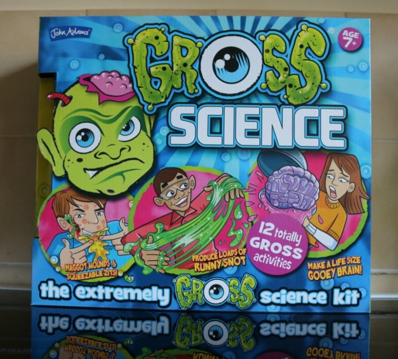 Enjoying Gross Science for British Science Week